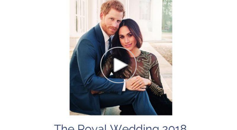 بدء مراسم زفاف الأمير هاري والفنانة ميغان ماركل