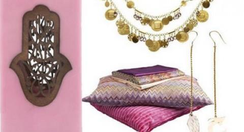 هدية العيد: المجوهرات وإكسسوارات المنزل بالرموز الشرقية