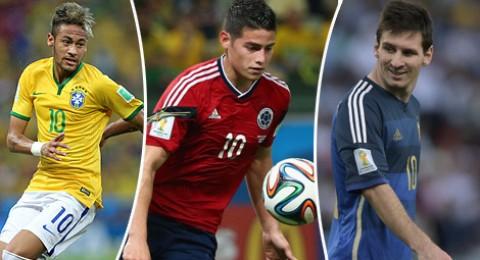 أفضل 11 لاعبا في كأس العالم من قارة أمريكا