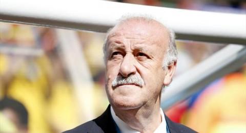 دل بوسكي يريد البقاء مع إسبانيا رغم الخروج المذل من البرازيل