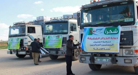 مصر تمنع دخول قافلة مساعدات جزائرية إلى غزة