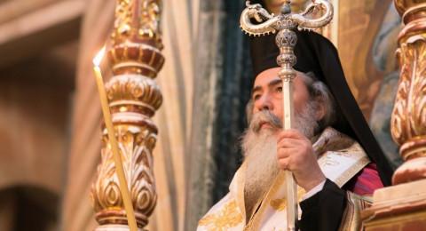البطريرك ثيوفيلوس: الحكم في قضية باب الخليل بالقدس اعتداء خطير