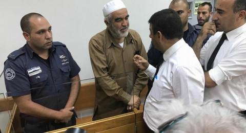 آخر المستجدات في ملف اعتقال الشيخ رائد صلاح.. قبل محكمته اليوم