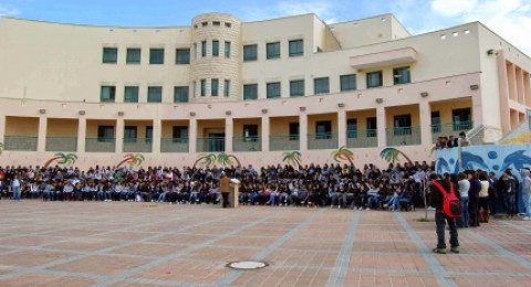 قائمة المدارس المتفوقة والتي يحصل معلميها على جوائز مالية: يركا، كفر ياسف، البطوف، عرابة والمشهد بالمقدمة