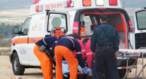 حيفا: حادث طرقات واصابة سيدة من جسر الزرقاء بصورة بالغة