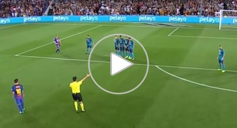 فيديو يلخص احداث لعبة الامس بين ريال وبرشلونة
