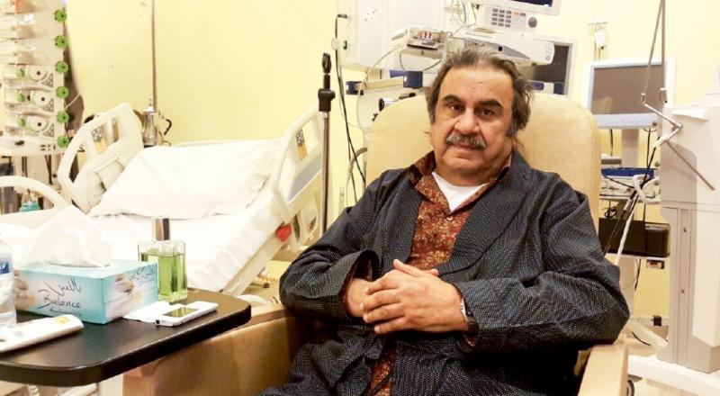 وفاة الفنان الكويتي عبد الحسين عبد الرضا في إحدى مستشفيات لندن