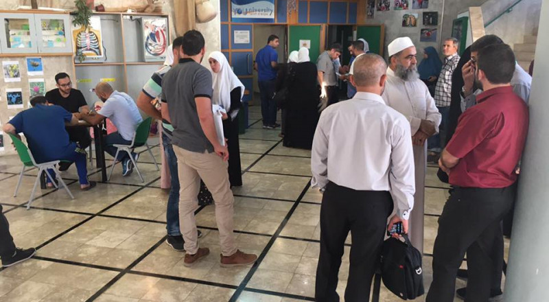 اقبال كبير على التسجيل في اليوم المفتوح للأكاديمية الشرعية كفربرا في مدينة الناصرة
