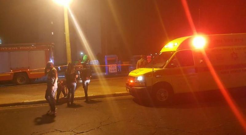 إصابة فتى من الرينة اثر سقوطه من الطابق الثالث
