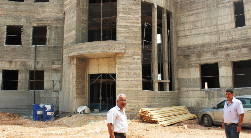 رئيس بلدية شفاعمرو يقوم بجولة تفقدية للمدارس في شفاعمرو