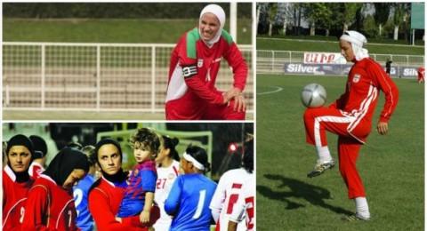 لاعبة إيرانية تغيب عن أمم آسيا..منعها زوجها من السفر!