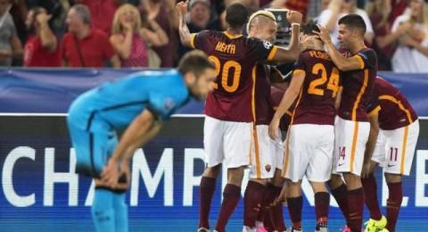 روما يقتنص تعادلاً من أنياب برشلونة