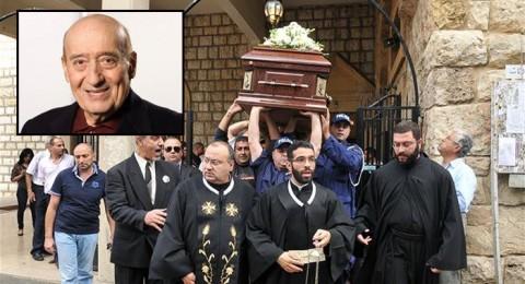 مراسم تشييع جنازة عملاق الغناء وديع الصافي