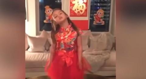 حفيدة ترامب تحقق شهرة على مواقع التواصل بالصين