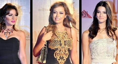 إطلالات النجمات في حفل افتتاح مهرجان القاهرة السينمائي