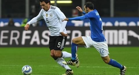 التعادل السلبي يخيم على قمة إيطاليا وألمانيا