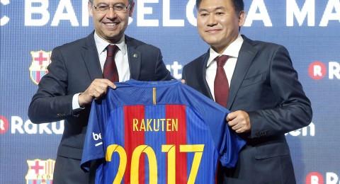 برشلونة يٌقصي مانشستر يونايتد من صدارة الأغلى رعاية