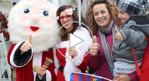الناصرة: اجواء مميزة في الكريسمس ماركت