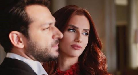 إيمان الباني ومراد يلدريم بضيافة الفنانة المغربية لطيفة رأفت