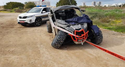 اشدود: مصرع شخص في حادث بين دراجة نارية وتراكتورون!