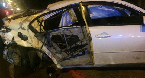 3 اصابات في حادث طرق على مفرق طمرة