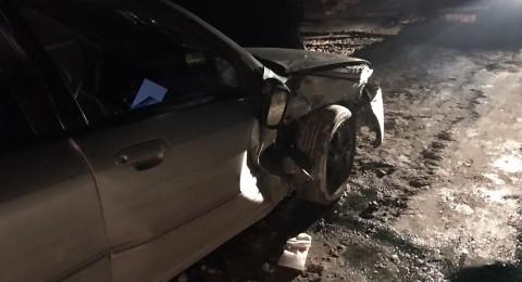 ثلاث إصابات بحادث في وادي عارة