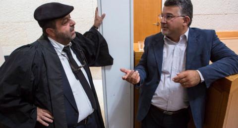المحكمة العليا ترفض بالإجماع التماس جمعية استيطانية ضد النائب جبارين