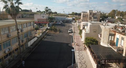 بلدية عكا تقوم بأعمال تطوير واسعة في حي موشي تسوري