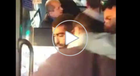 بالفيديو- الاعتداء على سائق عربي بالقدس من شخص زعم أنه شرطي