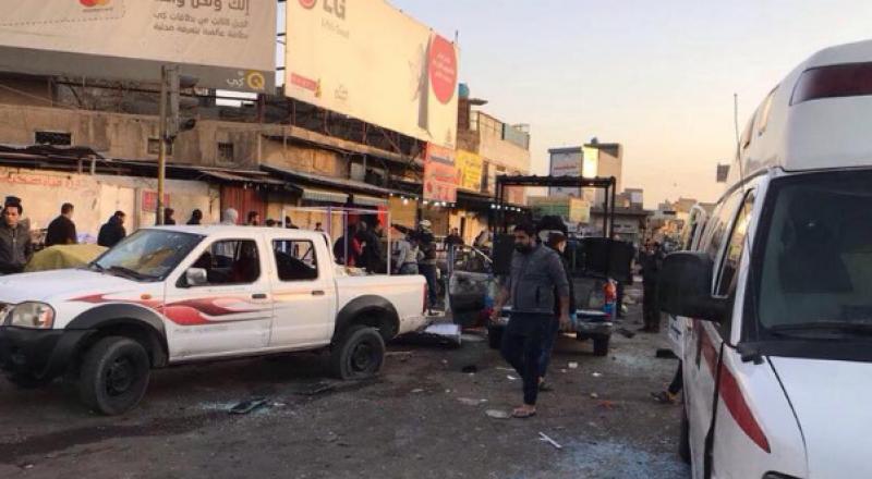 العراق: 26 قتيلا و95 جريحا جراء تفجير مزدوج وسط بغداد