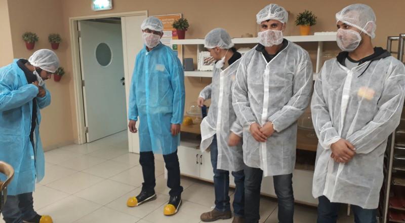 مركز ريان جنوب يقوم بزيارة تعريفية لمصنع
