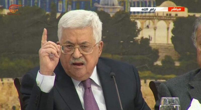 عباس يؤكد: عرضوا علينا أبو ديس عاصمة .. وسنرد