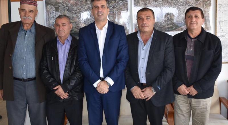وزير الاقتصاد الي كوهن في زيارة لدعم المناطق الصناعيّة يانوح جت ودير الأسد
