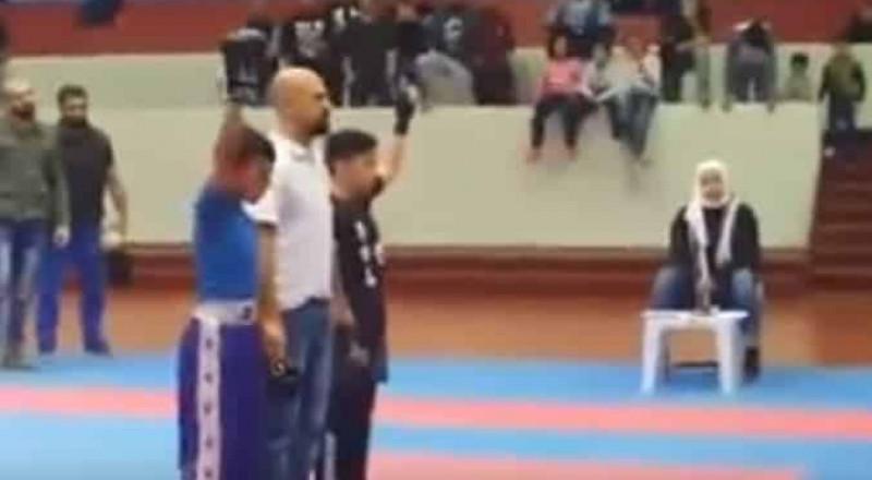 كويتي يعتدي على طفل مصري هزم ابنه في مباراة كاراتيه