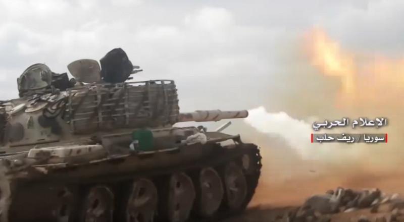 الجيش السوري يقتحم مطار أبو الضهور في ريف إدلب