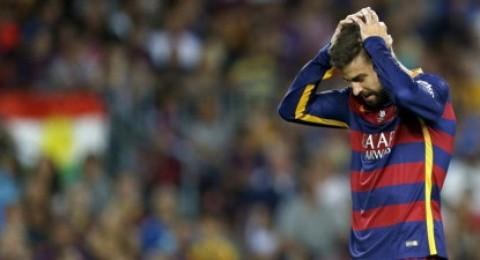 غياب بيكيه عن قائمة برشلونة أمام لاس بالماس