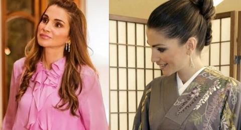 أجمل تسريحات الملكة رانيا استوحي منها لسهراتك