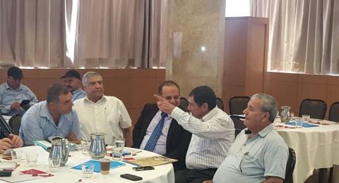 الاجتماع الأول للمديرية الخاصة بالدروز والشراكس