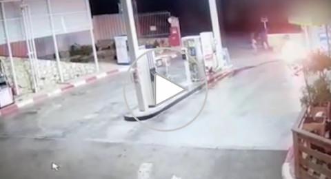 نحف: سرقة، اشعال واطلاق النار في محطة وقود عند مدخل البلدة