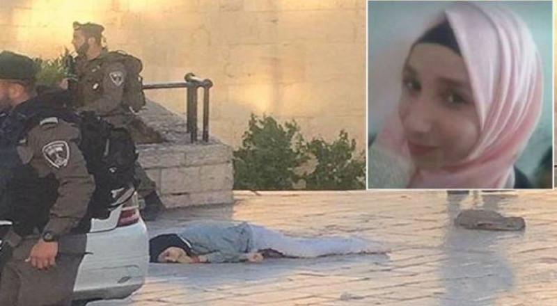 رام الله: جماهير غفيرة من أبناء شعبنا تشيع جثمان الطفلة فاطمة حجيجي