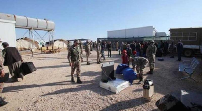 مصدر عسكري أردني ينفي وقوع انفجار في مخيم للنازحين السوريين