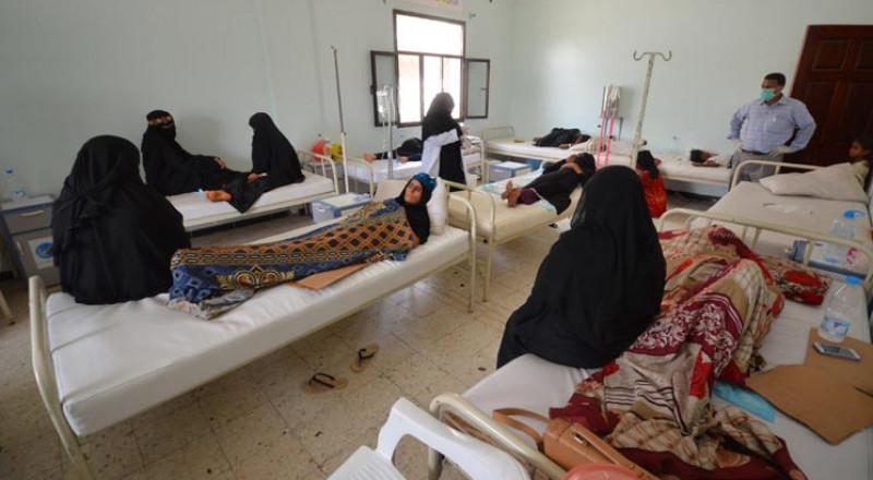 إعلان حالة الطوارئ الصحية في صنعاء بسبب انتشار الكوليرا