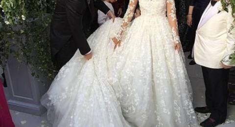 زفاف ملكي لابنة ملياردير لبناني في فرنسا