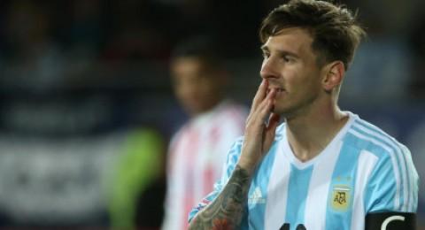 كوبا امريكا :ميسي يرفض استلام جائزة رجل المباراة ضد باراجواي
