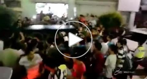 الشرطة تهرب عساف من محل للملابس بمدينة رام الله