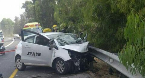 مصرع شخص في حادث طرق مروّع قرب عتليت