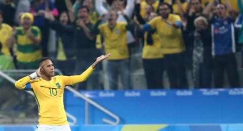 ريو 2016: البرازيل تجتاز كولومبيا إلى نصف النهائي
