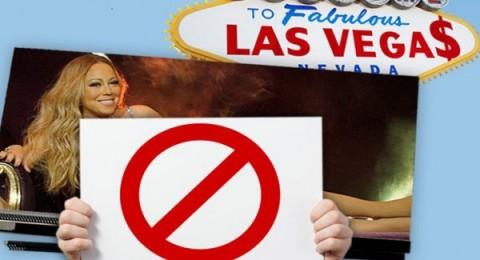 حظر إعلانات المغنية الأمريكية ماريا كاري لأنها