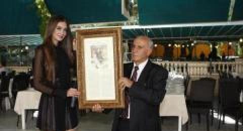 اليكم صورًا من تكريم ملكة جمال لبنان 2012
