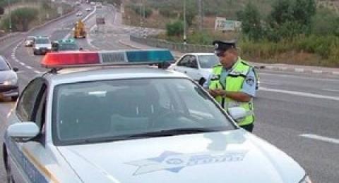 نهاية الإسبوع: ضبط 80 سائقًا قادوا سياراتهم في حالة الثمل